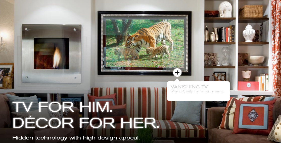 How many ways can you make your television disappear?